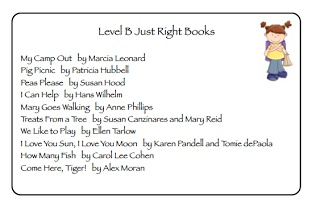 Funky First Grade Fun: Leveled Book Lists - Great resource for sending home leveled book lists for parents in K/1