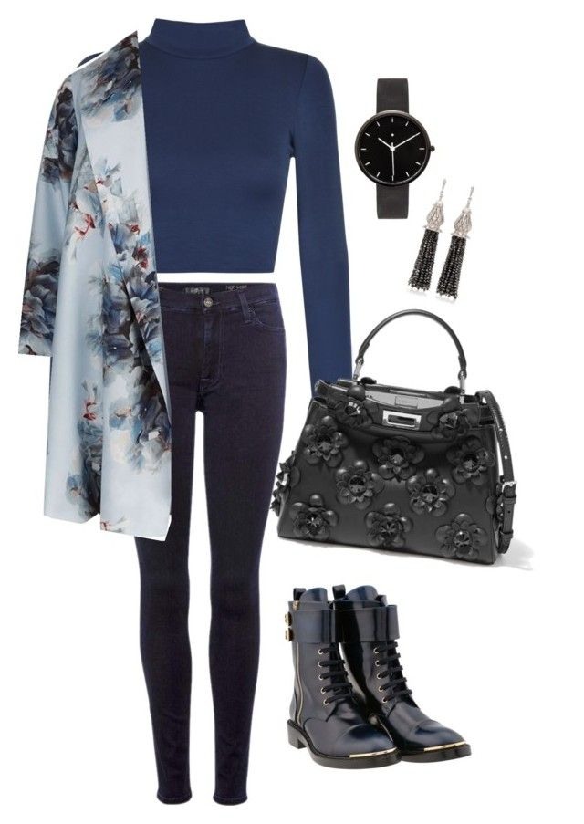 """""""Untitled #1748"""" by n2288851 on Polyvore featuring 7 For All Mankind, WearAll, Louis Vuitton, Marina Rinaldi, Fendi, I Love Ugly and Sanjay Kasliwal"""