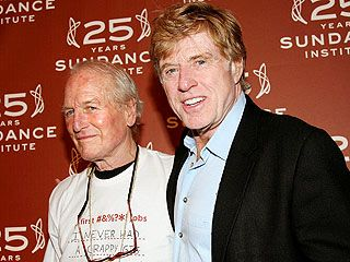 Robert Redford 'Beyond Words' over Newman's Death