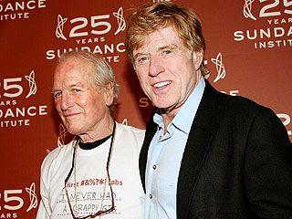 Robert Redford 'Beyond Words' over Newman's Death