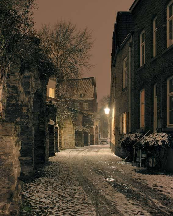 Sjoen stadswal Maastricht, The Netherlands