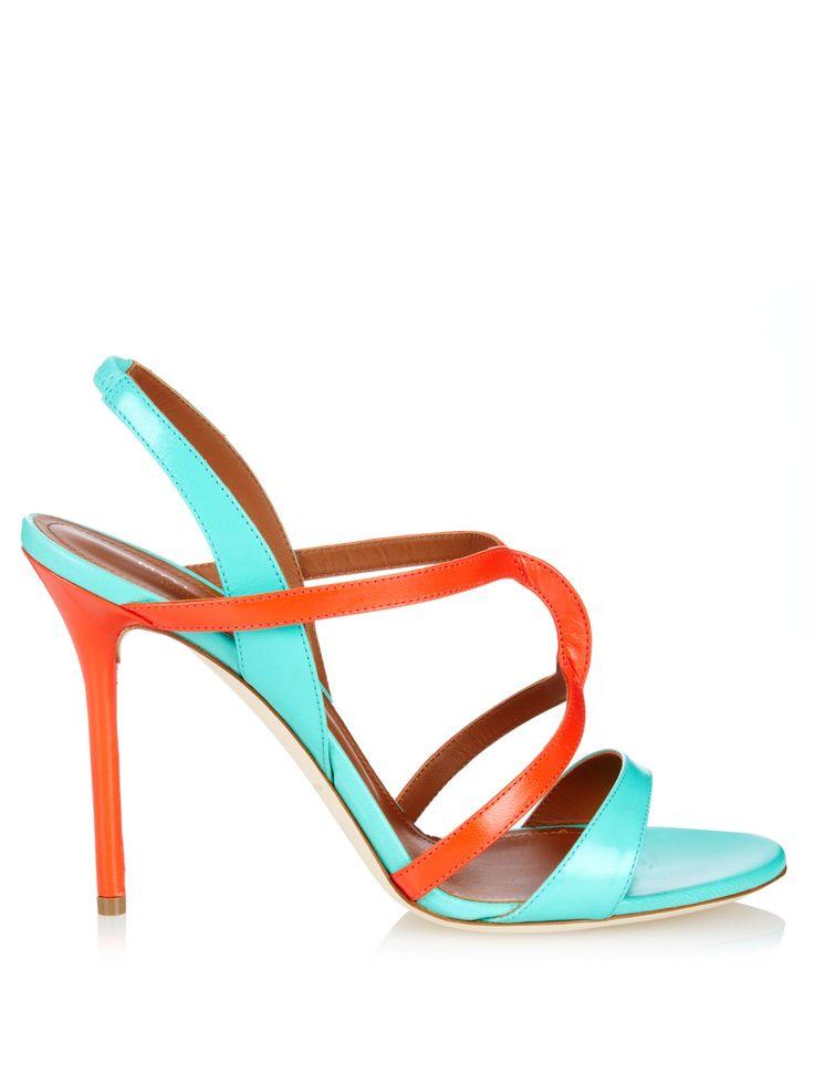 Ronnie bi-colour leather sandals   Malone Souliers   MATCHESFASHION.COM UK