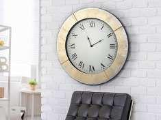 Reloj Redondo con lunas de Espejo : AURORA Oro