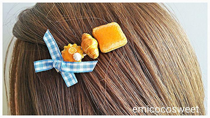 Ribbon hairclips,Alligator hair clip,Sweet hair clip,Cute hair clip,Handmade