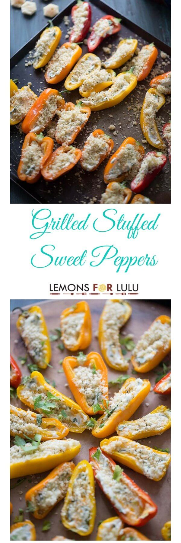 Mini Grilled Stuffed Peppers