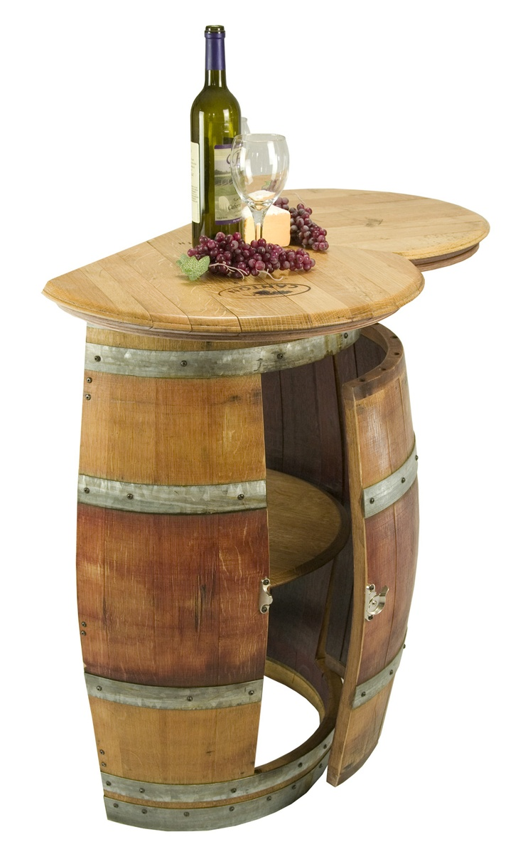 Wine Barrel Half Wall Mount Kitchen All Barrel No Wine