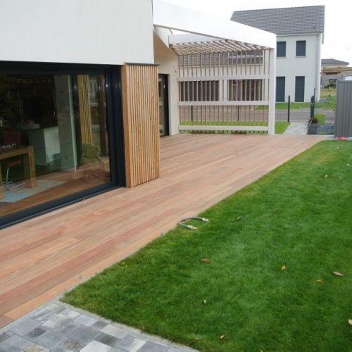 Best 20 terrasse bois exotique ideas on pinterest - Monter une terrasse en bois ...