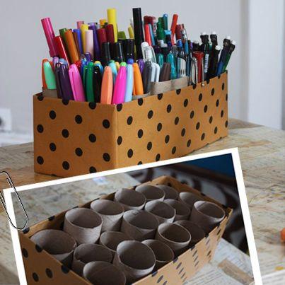 organizacion de utiles escolares http://en10salgo.blogspot.com.ar/2014/04/5-errores-que-hacen-que-tu-casa-luzca.html
