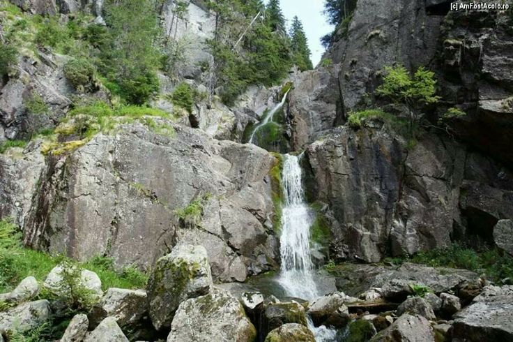 Cascada moara dracului ( Devil's Mill cascade), Apuseni mountains, Romania
