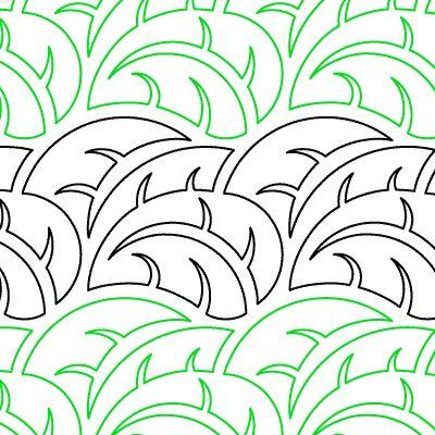 Растительный орнамент - Листья Тропические Tropics - Paper- 8