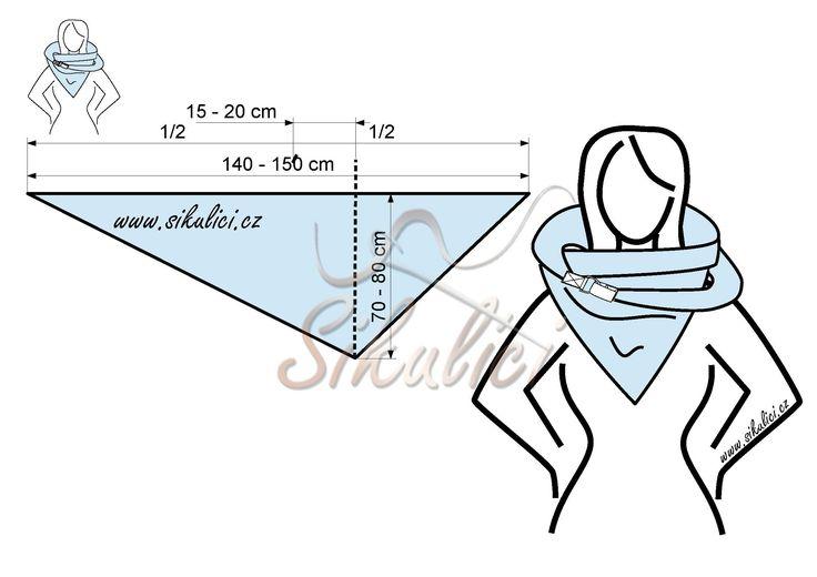 Nákrčník, šálo šátek, šála, šátek - Šikulíci