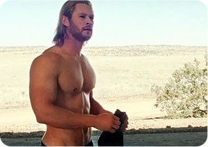 Thor- pretty sure I am in love! Lol **HEY HEY HEY! Pa Ia, you better calm your twins lol**