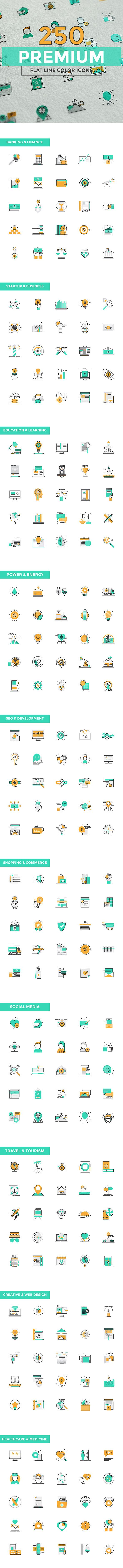 https://www.behance.net/gallery/32852395/Set-of-modern-Color-Line-Design-icons