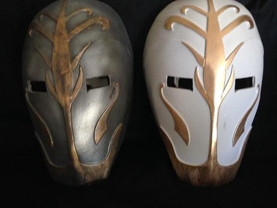 Jedi Temple Guard Custom Mask revan Helmet Star Wars by lionsdendc