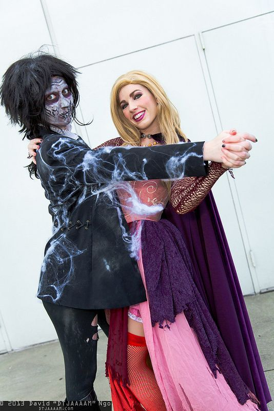 Billy Butcherson and Sarah Sanderson | Comikaze Expo 2013