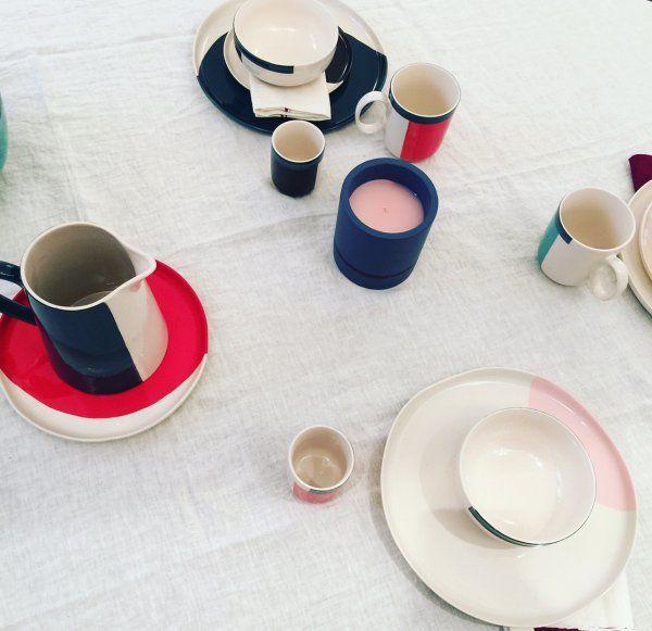 Collaboration Monoprix et Sarah Lavoine , art de la table