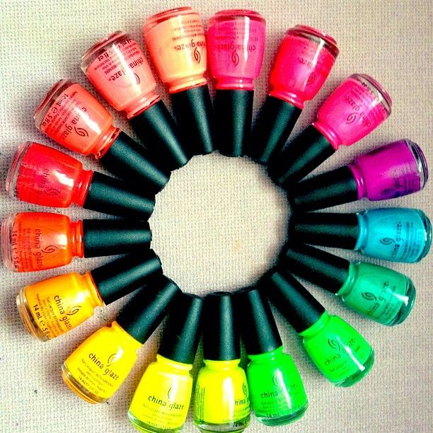 ChinaGlaze Neon Rainbow: What's Yours?