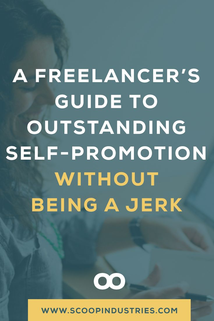 Promoting yourself can be hard. But it just got a lot easier with this guide full of practical ideas for freelancers and services-business owners who are ready to grow their business. **Pin this resource for later.** via @scoopindustries