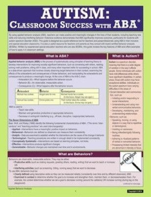 Autism: Classroom Success with Applied Behavior Analysis (ABA)