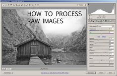 How to process RAW images   Discover Digital Photography