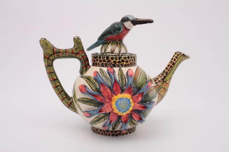 ardmoreceramicscalifornia.com Bird Teapot
