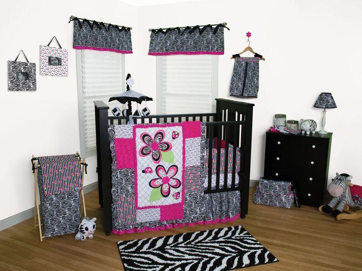 Best Baby Crib Bedding Images On Pinterest Baby Cribs Baby - Baby girl zebra crib bedding sets