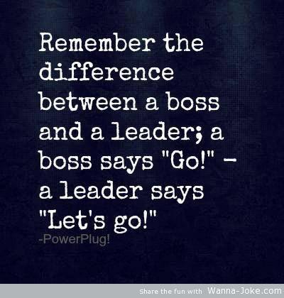 Leadership #inspiration