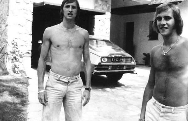 #Cruyff #Neeskens; #FCBarcelona