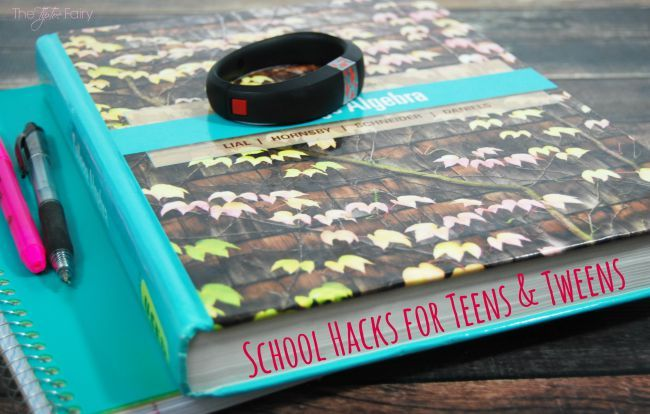 Make school a bit more easy and fun with these 10 Back to School Hacks for Tweens and Teens!!