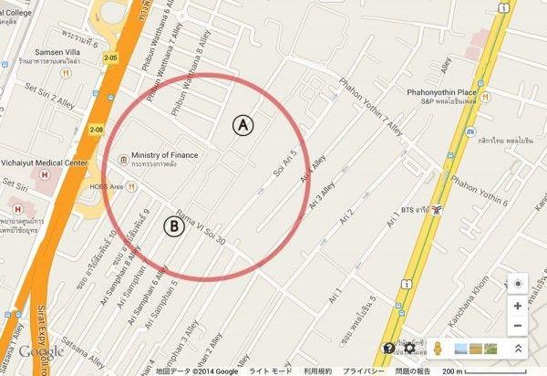 ▼5Aug2014しらべぇ|タイの不可思議な道路事情を地図で調査!運次第、罰ゲームのような構造とは? http://sirabee.com/2014/08/05/1601/ #Bangkok