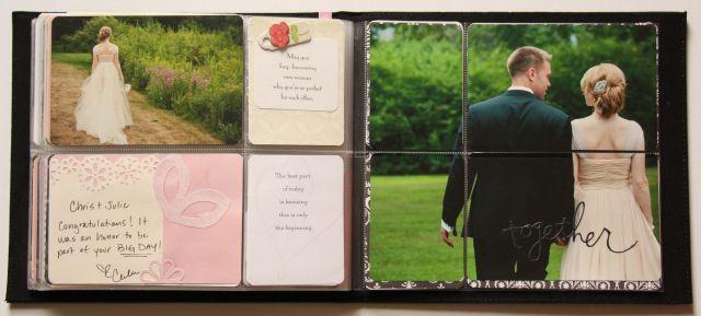 Project Life mini album: Wedding Guest Book