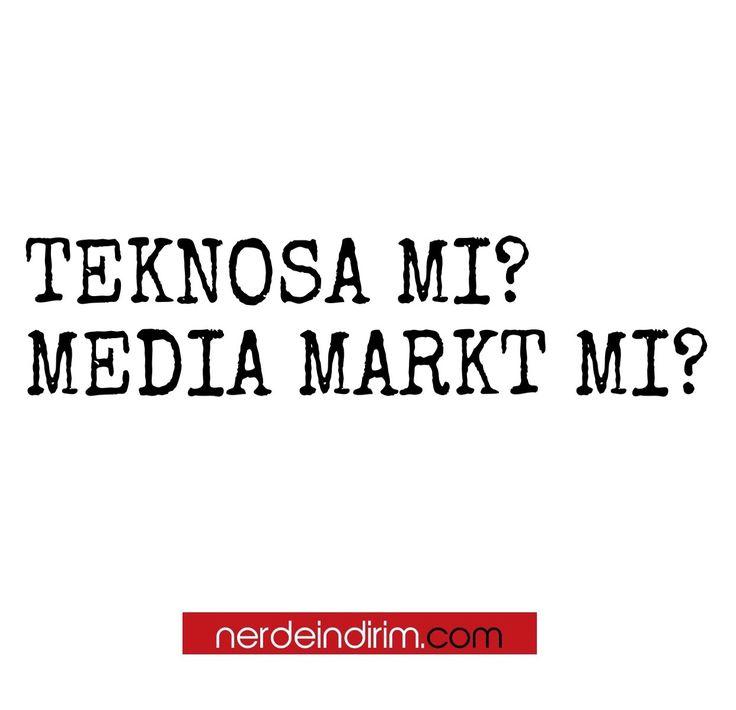 🤔 Nerdeindirim - GÜNÜN SORUSU - Hangisi, Teknosa Mı? Media Markt Mı? cevaplarınızı görselin altına yorum olarak bekliyoruz.  #türkiye #nerdeindirim #nerdeindirimgününsorusu #gününsorusu #soru #sorucevap #teknosa #mediamarkt @teknosa @mediamarkt_tr #elektronik #elektronikmağaza