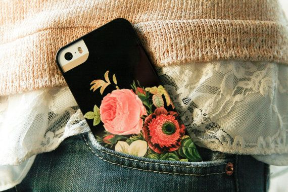 Vintage Floral iPhone 5S Case, Bouquet, Floral iPhone 5C, Floral iPhone 4, Galaxy S4 Cover, Flowers on Etsy, $29.00