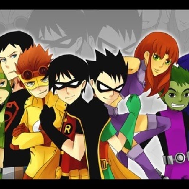 heroes on patrol teen titans