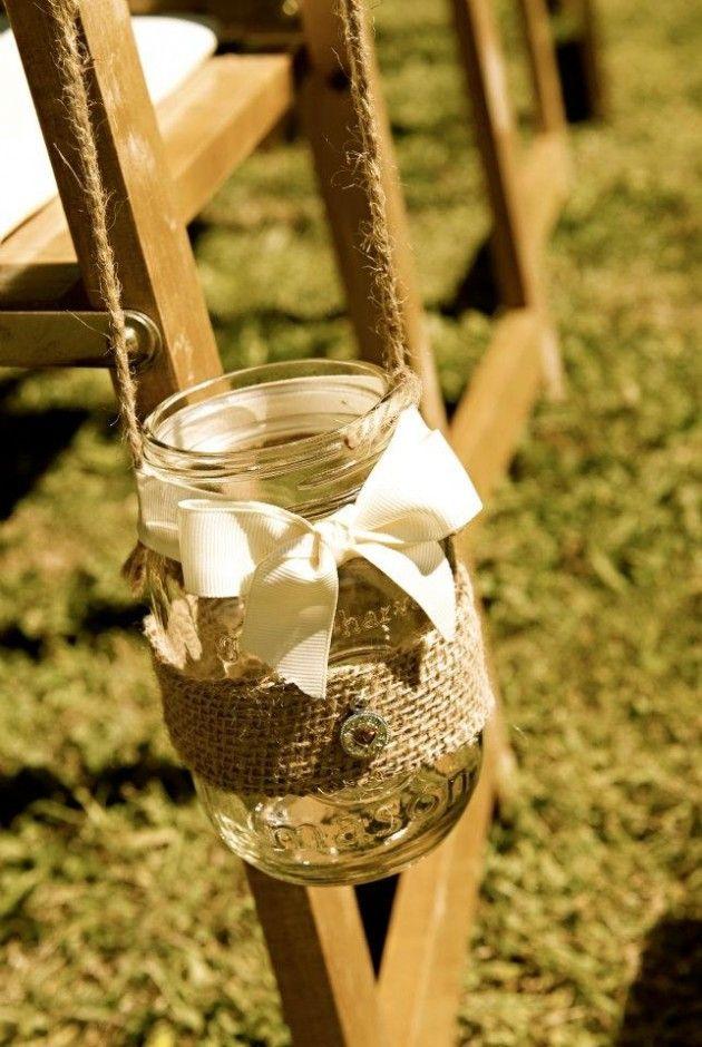 25 Adorable DIY Hanging Mason Jars
