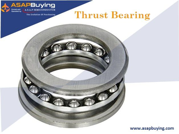 A thrust bearing is a particular type of rotary bearing. #ASAPBuying has all inventory of Thrust Bearing ready to ship from our sellers at competitive prices.