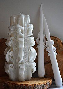 Svietidlá a sviečky - Sada na svadobný stôl - 4379736_