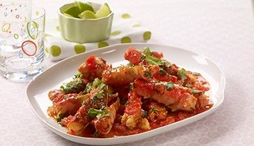 Norwegian King Crab with Lime and Chili