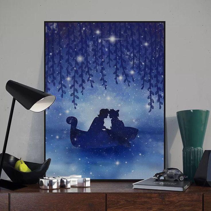 Watercolor Princess and Prince Love Under The Stars Series #love #photooftheday #amazing #picoftheday #girl #bestoftheday #colorful #style #like4like #art #illustration #beautiful #graphics #artoftheday #prince #princess #star #romantic #artprints #artwork #mildart #poster #uniquegift #wallart #homedecor #painting #watercolor #wedding #lover #weddingdecoration via www.mildart.com