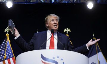 Donald Trump On Climate Change: 'I Believe It Goes Up And It Goes Down'