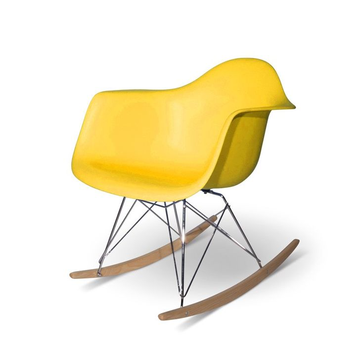 rocking chair eames upholstered original price rar replica