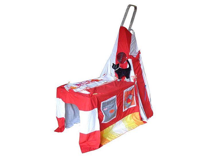 DIY speeltent van Hanging Houses / DIY playing tent for children