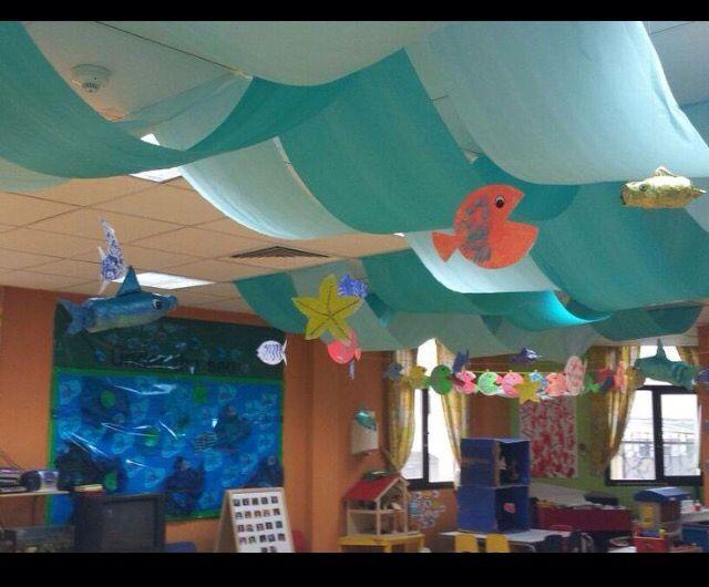 Fall Classroom Ceiling Decorations : Decoración aulas pinterest school