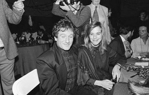 Robin Williams wife #1 Valerie Velardi married June 4, 1978; Mother of Zachary Pym Williams in April 11, 1983-Robin's firstborn; divorced December 6, 1988 (due to his affair with Zak's nanny, Marsha Garces=wife #2.)