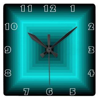 Teal High Quality Clocks, Teal Wall Clocks Of High Quality