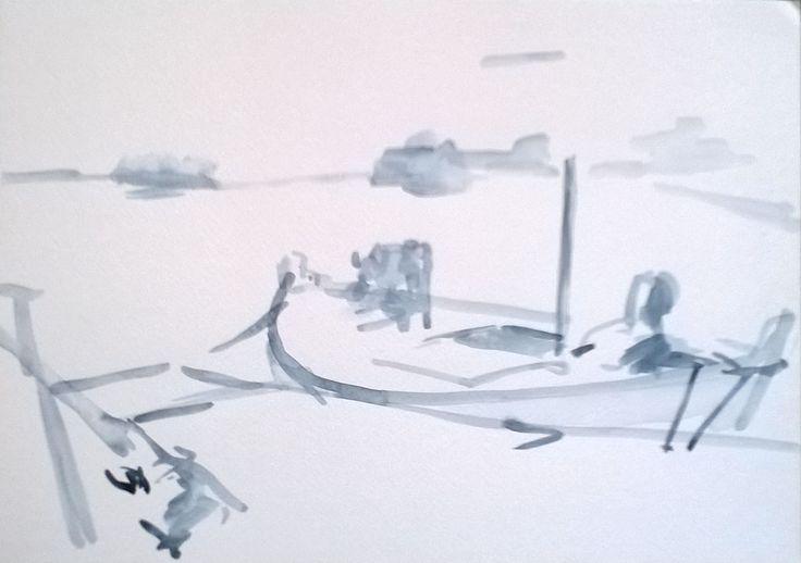 fisherman`s boat in Uvala Veprinova, Hvar, HR