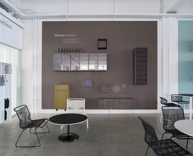 Montanau0027s Redecorated Showroom In Copenhagen. #montanafurniture #showroom # Furniture #storage #monocrome