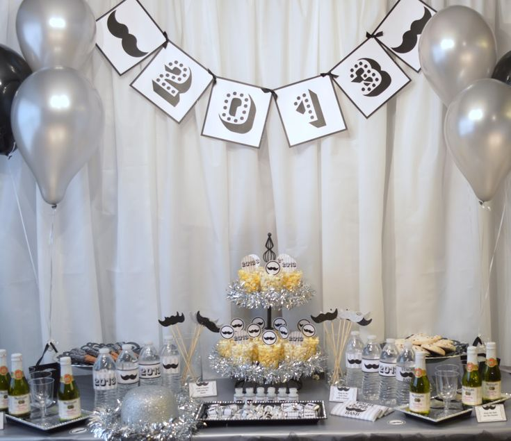 33 best black and white party images on Pinterest | Anniversary ...