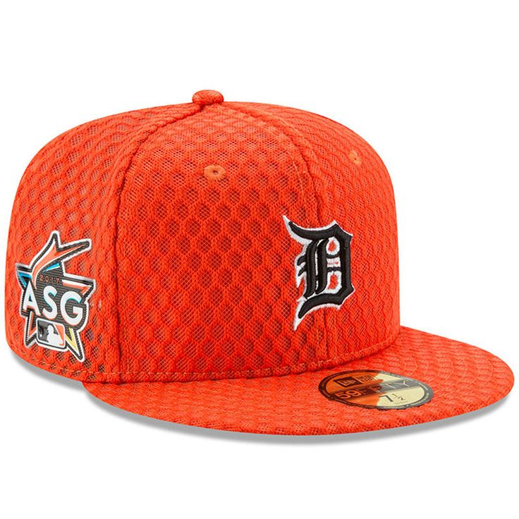Detroit tigers new era 2017 home run derby side patch