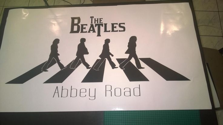 The Beatles approx 1000x600mm.  To order contact me at www.facebook.com/brightenupyourworld